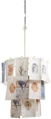 "Creative Co-op 30\"" H Iridescent Pendant Lamp"