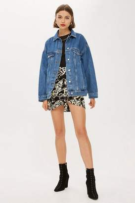 Topshop Super Oversized Denim Jacket