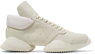 Rick Owens + adidas Originals Runner leather sneakers $790 thestylecure.com