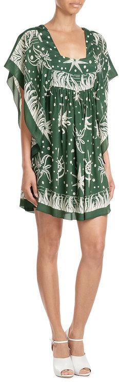 Anna SuiAnna Sui Seafarer Print Dress