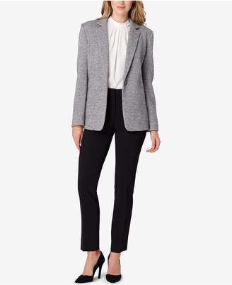 Tahari ASL Heathered Blazer