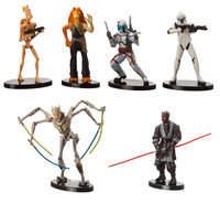 Disney Star Wars Collectible Figures - Prequel Set