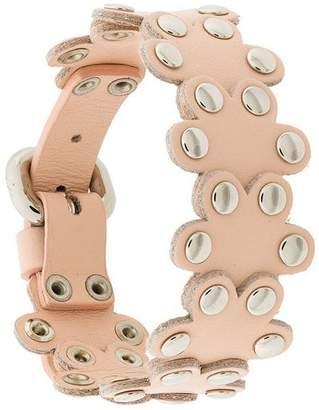 RED Valentino flower puzzle bracelet