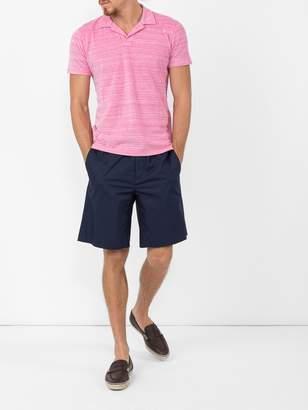 Orlebar Brown Open collar polo shirt