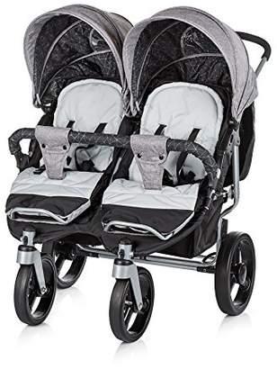 Chipolino Twin Stroller Twix, Brown