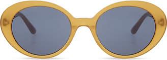 Ov5344 oval-frame sunglasses
