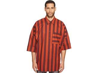 Vivienne Westwood Striped Freedom Shirt Men's Clothing