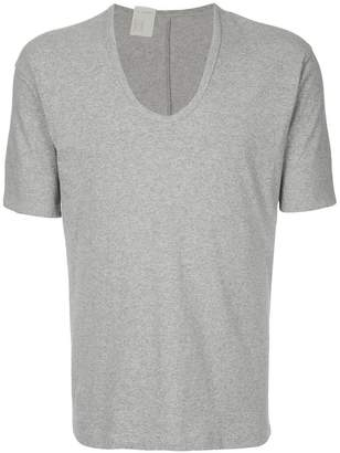 N. Hoolywood scoop neck T-shirt