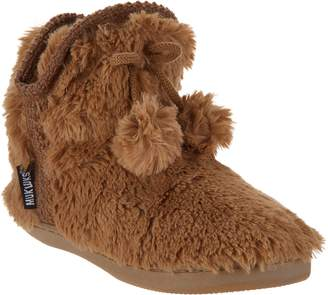 Muk Luks Faux Fur Amira Slipper Boots