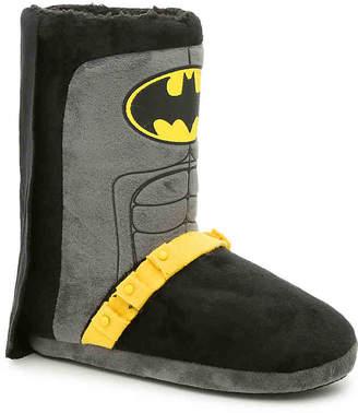 Ground Up Batman Toddler & Youth Slipper Boot - Boy's