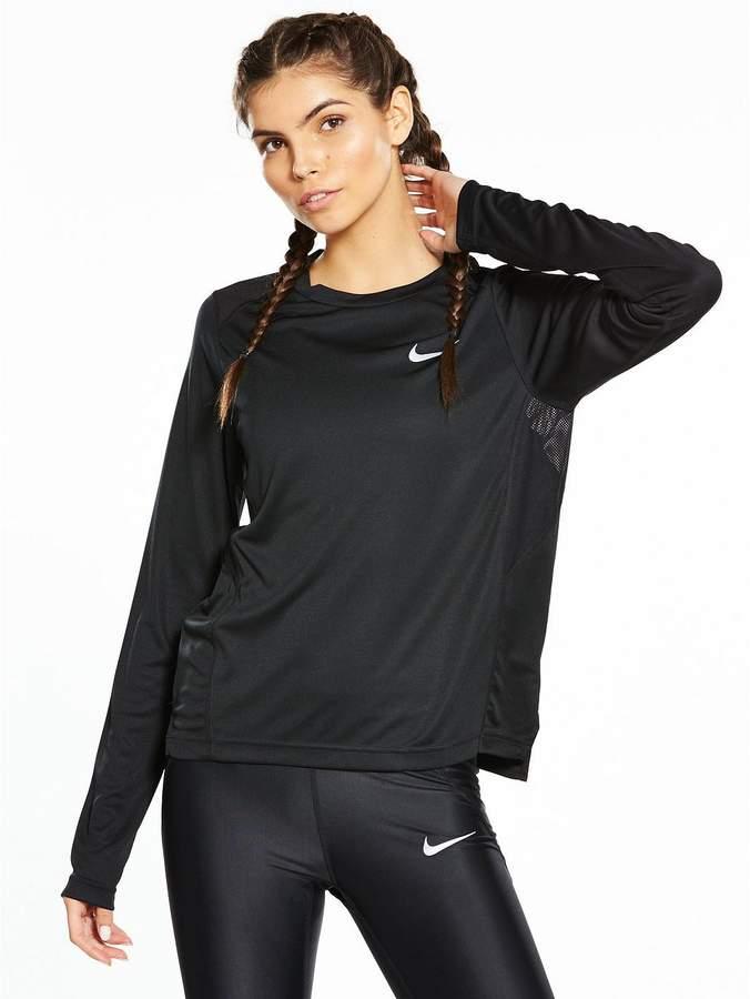 Running Dry Miler Long Sleeve Top