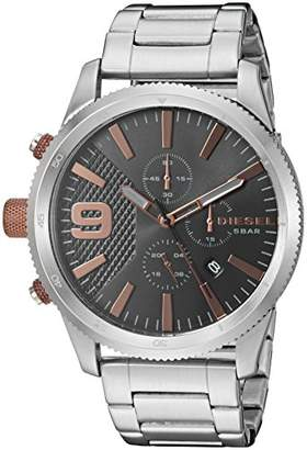 Diesel Men's 'Rasp Chrono 46' Quartz Stainless Steel Casual Watch