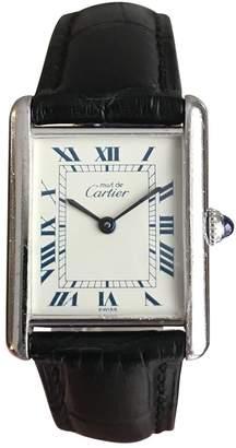 Cartier Tank Solo silver watch
