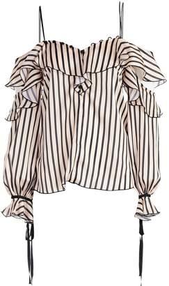 Self-Portrait Striped Top
