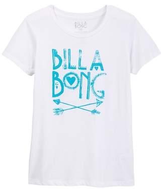 Billabong Tell You Story Tee (Little Girls & Big Girls)