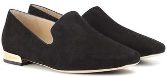 f96f3e8f7a0e Jimmy Choo Black Flats For Women - ShopStyle Australia