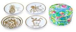 Lilly Pulitzer Four-Piece Ceramic Coasters Set
