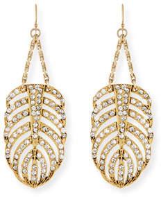 Lulu Frost Drift Crystal Statement Earrings WiphEXVNLS
