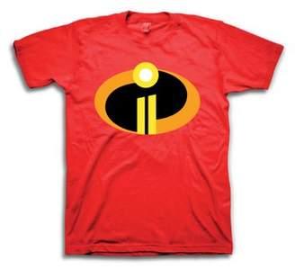 Movies & TV Incredibles Men's Superhero Disney Pixar The Incredibles Logo Short Sleeve Tee Graphic Tee, up to sixe 3XL