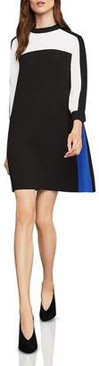 BCBGMAXAZRIA Stephanie Color-Block Shift Dress