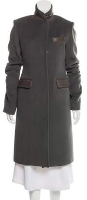 Thomas Wylde Wool-Blend Long Coat