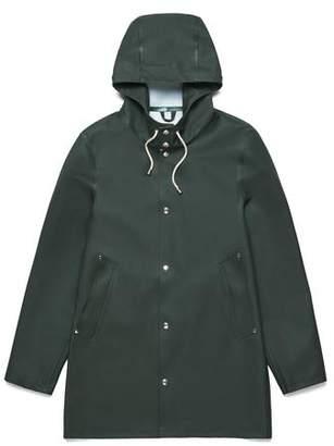 Stutterheim Stockholm Basic Raincoat in Green