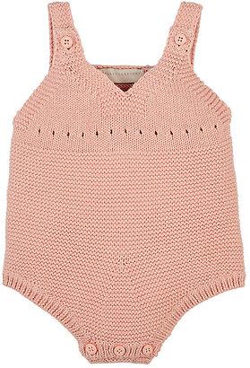 Stella McCartney Bunny-Appliquéd Cotton-Cashmere Bodysuit $98 thestylecure.com