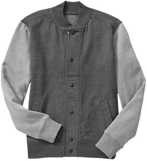Gap Fleece baseball jacket