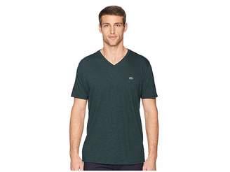 Lacoste Short Sleeve V-Neck Pima Jersey T-Shirt