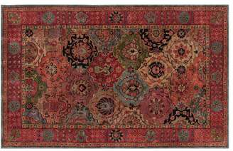 Pottery Barn Benares Persian Rug - Warm Multi