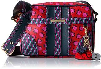 Juicy Couture Leather Print Blocking Corssbody Bag $288 thestylecure.com