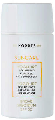 Korres Yoghurt Fluid Veil Face SPF 30, 1.7 oz. 50 mL