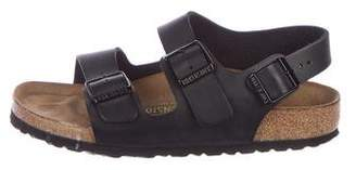 Birkenstock Leather Ankle Strap Sandals
