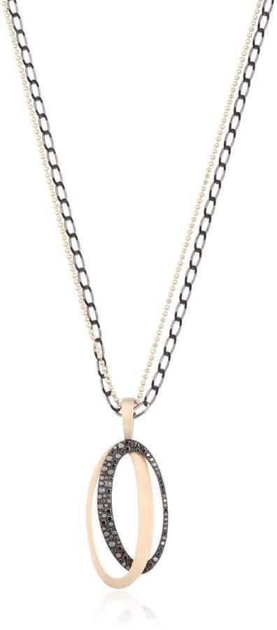 Antonini Black & White Necklace