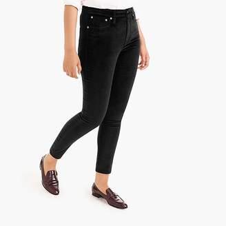 """9"""" High-Rise Toothpick Jean In Velvet"""