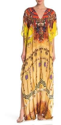 Shahida Parides 3-Way Long Convertible Print Kaftan