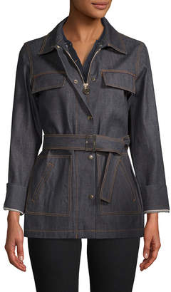 Carven Denim Trench