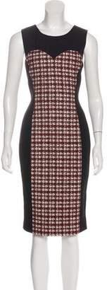 Jason Wu Wool Tweed-Paneled Dress