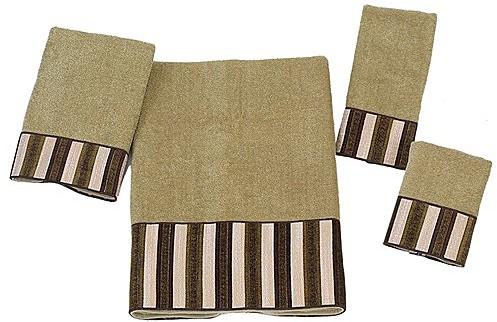 Bleecker Towels by Avanti