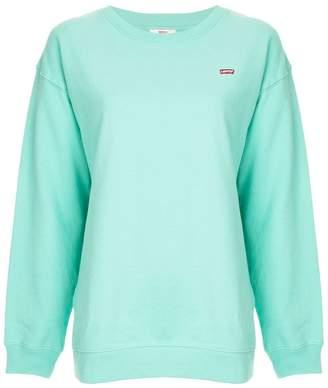 Levi's oversized crewneck sweatshirt