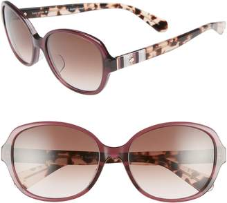 Kate Spade Cailee 56mm Special Fit Sunglasses