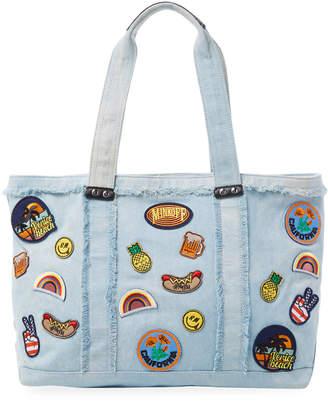 Rebecca Minkoff Denim Cotton Tote Bag