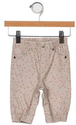 Stella McCartney Girls' Printed Corduroy Pants