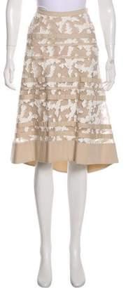 Schumacher Dorothee Textured Midi Skirt
