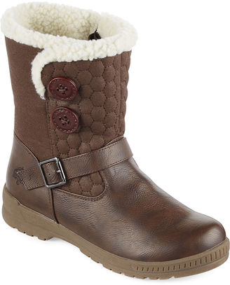 Totes Jennifer Short Quilted Winter Boots $69.99 thestylecure.com