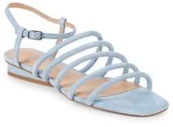 Halston Leandra Suede Sandals