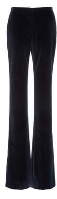 Calvin Klein Straight Leg Cotton Velvet Pants