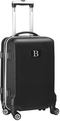"""ABS by Allen Schwartz Mojo Licensing 21"""" Carry-On Hardcase Spinner Luggage - 100% With Letter B"""