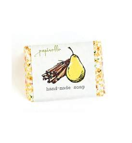 Papinelle Pear & Cinnamon Large Hand Made Soap