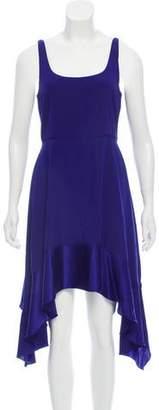 Elizabeth and James Silk Asymmetric Dress
